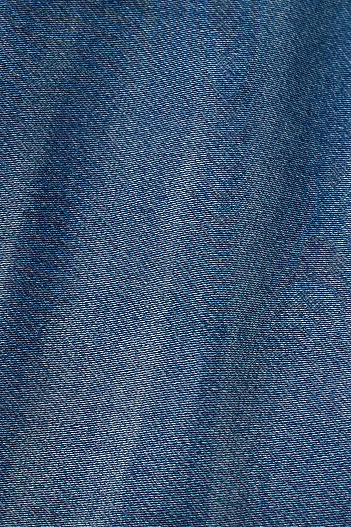 Skinny Jeans in Jogger-Qualität, BLUE MEDIUM WASHED, detail image number 4