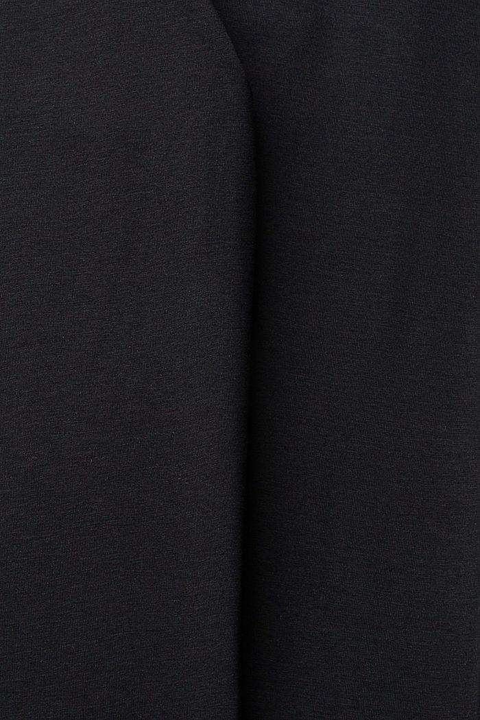 Leggings with organic cotton, BLACK, detail image number 4