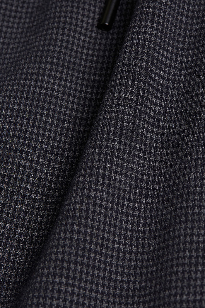Jersey trousers in a tracksuit bottom style, GREY BLUE, detail image number 4