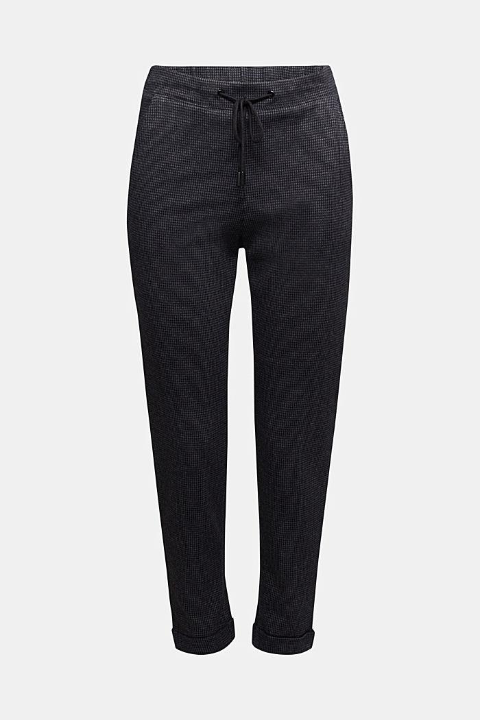 Jersey-Hose im Jogger-Style
