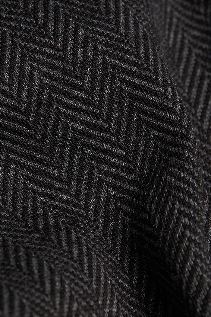 Pantalon à chevrons de style jogging, ANTHRACITE, detail image number 4