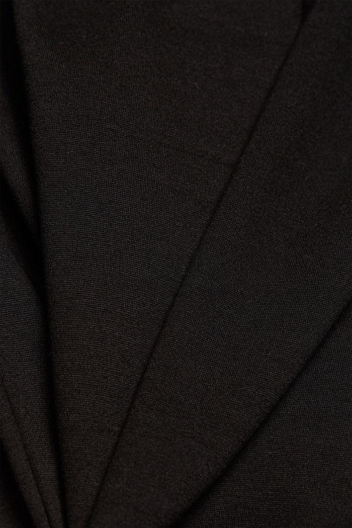 Joggery z jerseyu, BLACK, detail image number 4