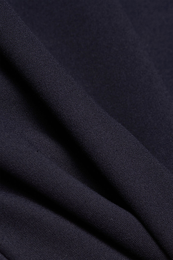 Jersey tracksuit bottoms, NAVY, detail image number 4