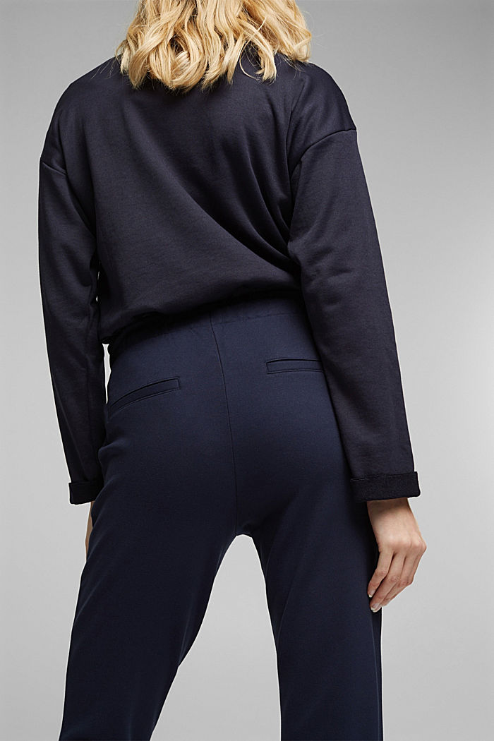 Jersey tracksuit bottoms, NAVY, detail image number 5