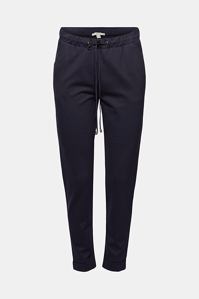 Jersey tracksuit bottoms