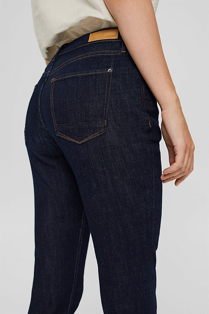 Stretch-Jeans aus Bio-Baumwolle, BLUE RINSE, detail image number 5