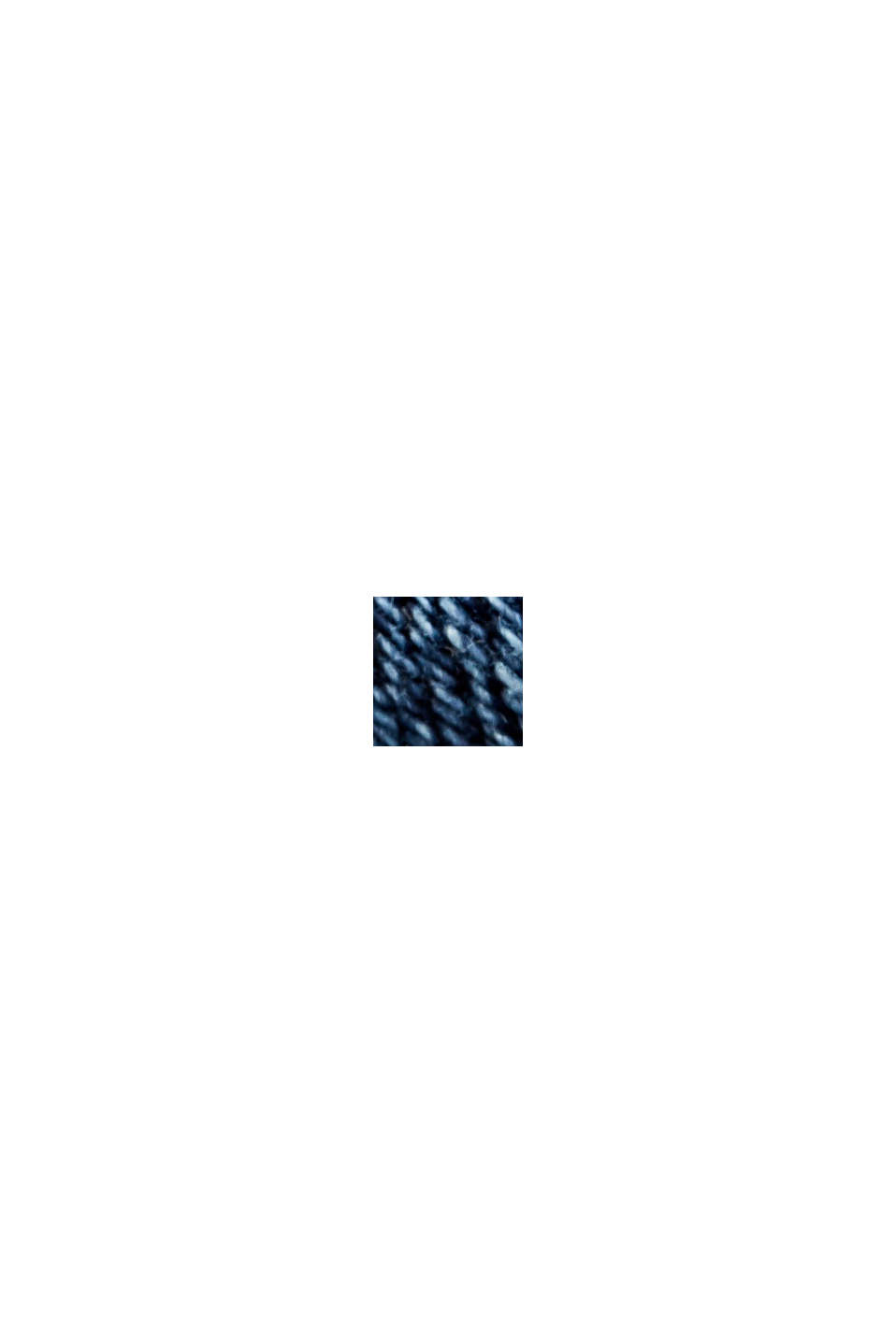 Garment-washed jeans with organic cotton, BLUE MEDIUM WASHED, swatch