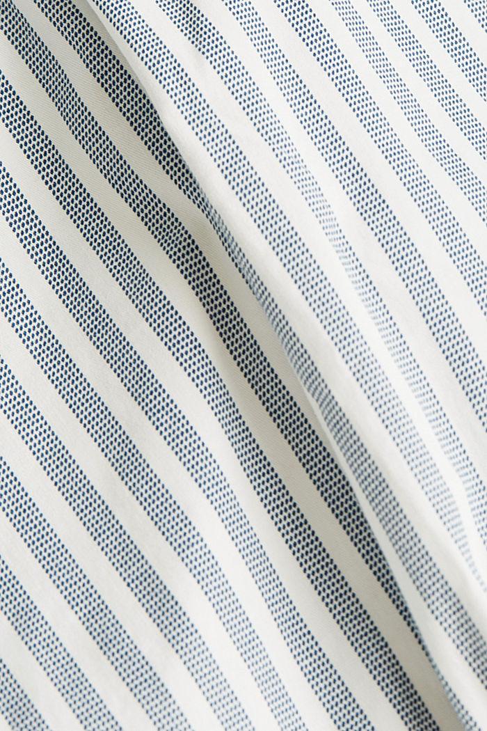 Szorty chino z paskiem, GREY BLUE, detail image number 4