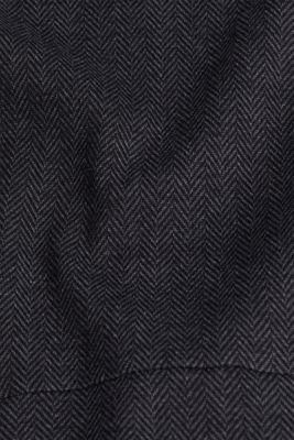 Sheath-style jacquard/jersey dress, ANTHRACITE, detail