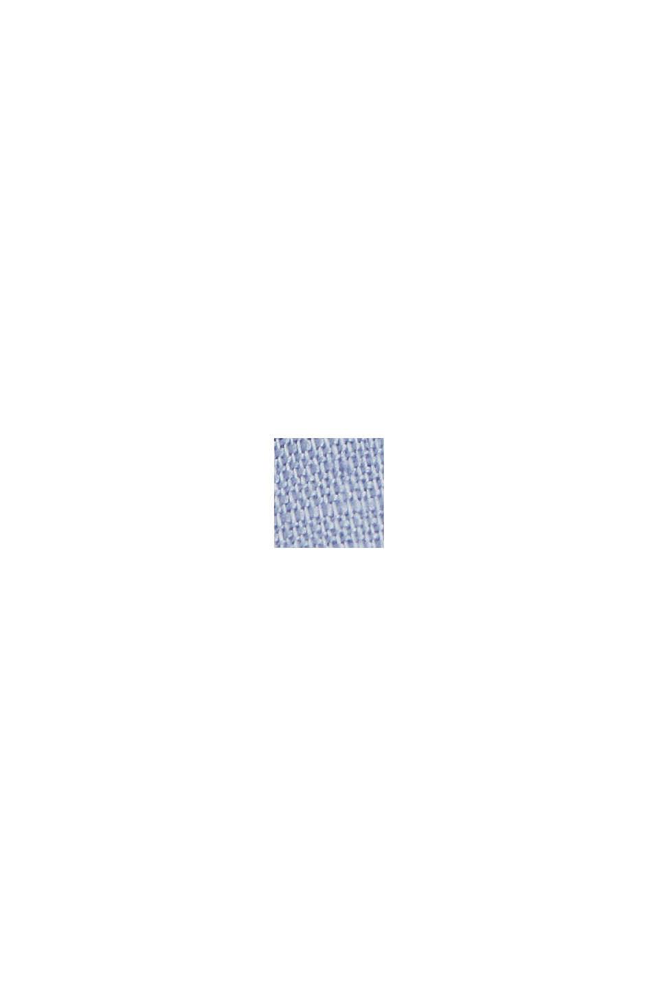 Aus Leinen-Mix: Hemd-Bluse, LIGHT BLUE LAVENDER, swatch