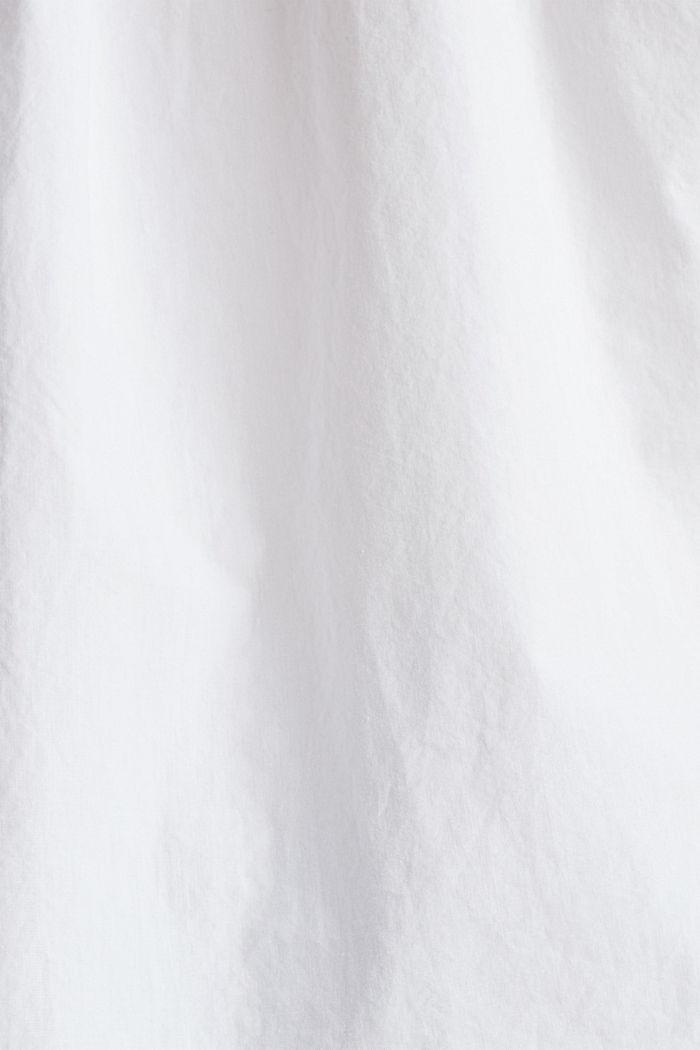 Blusentop aus 100% Organic Cotton, WHITE, detail image number 3