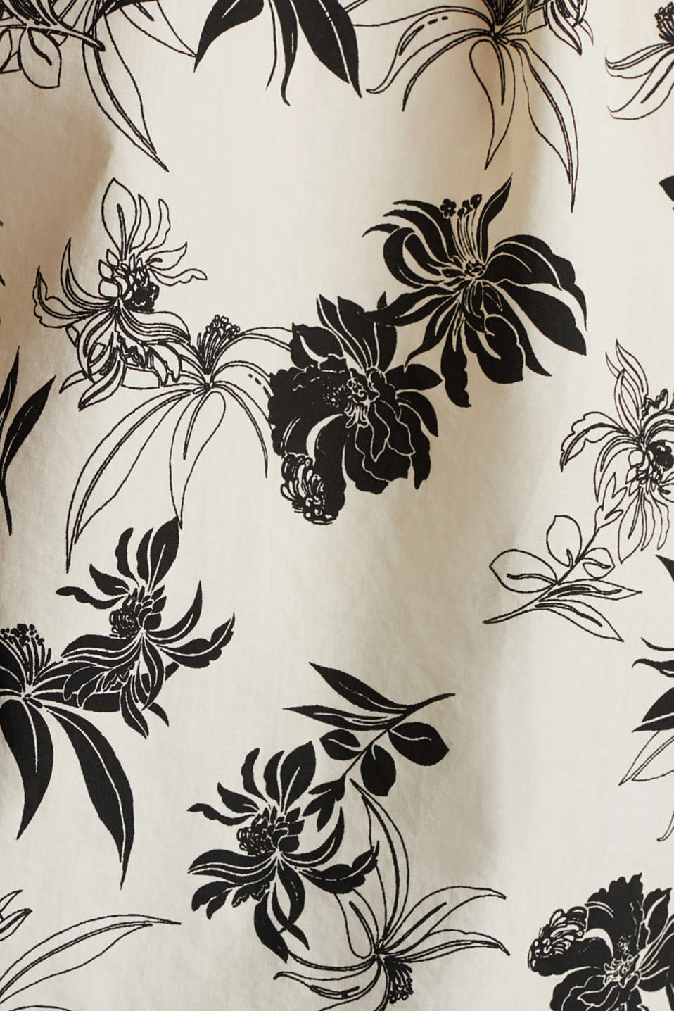 Print blouse made of 100% organic cotton, OFF WHITE, detail image number 4