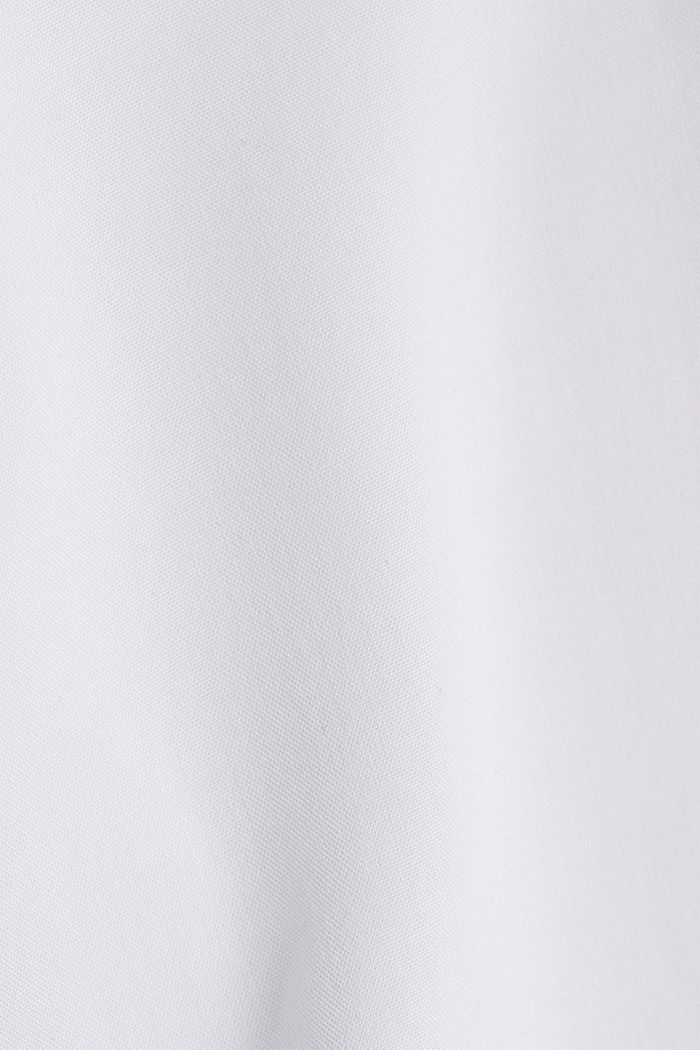 Henley blouse made of LENZING™ ECOVERO™, WHITE, detail image number 4