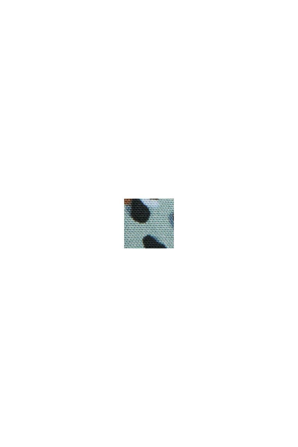 Halenka s levhartím potiskem, z materiálu LENZING™ ECOVERO™,, DUSTY GREEN, swatch