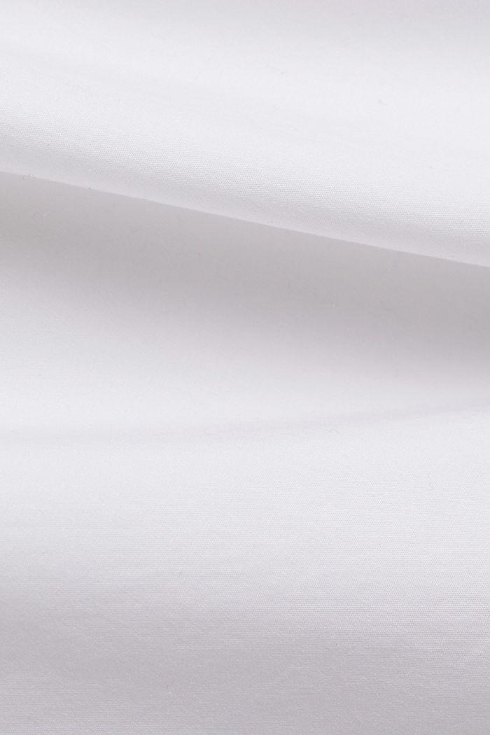 Organic cotton blouse, WHITE, detail image number 4