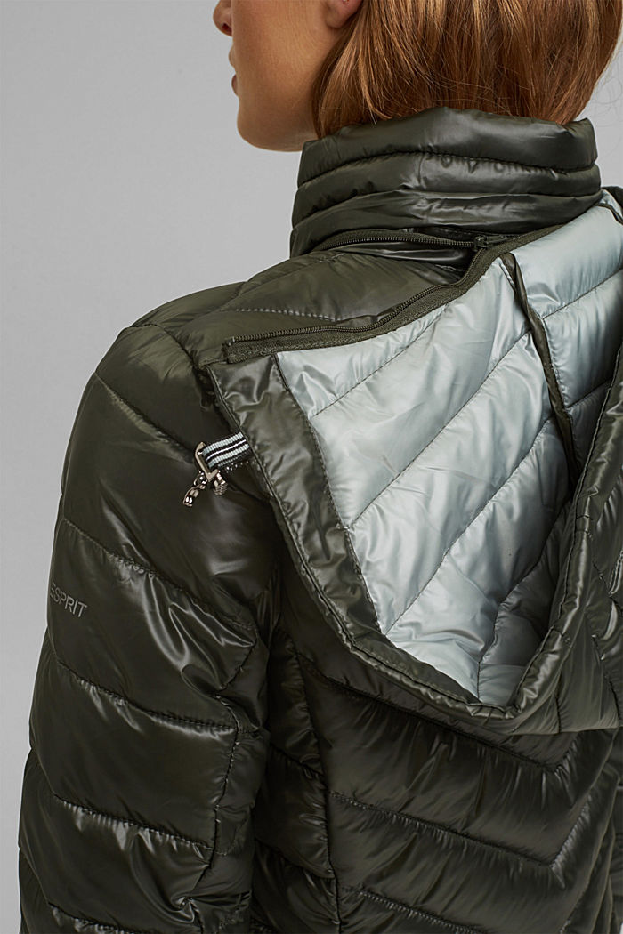 Recycled: 3M™ Thinsulate™ jacket, KHAKI GREEN, detail image number 2