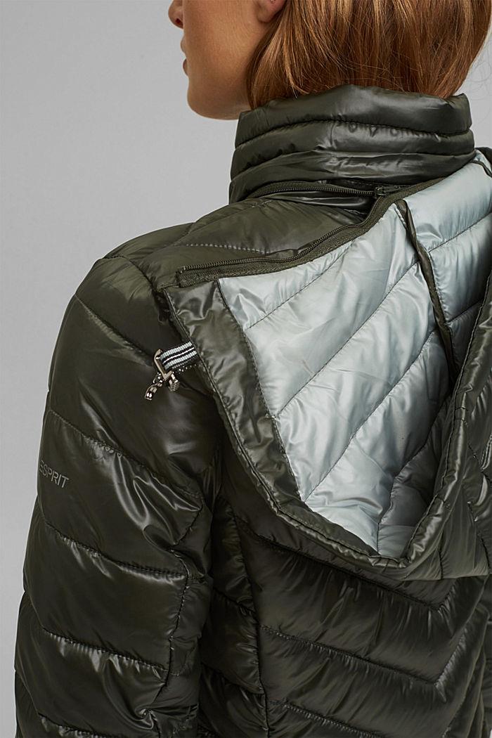 Recycelt: 3M™ Thinsulate™ Jacke, KHAKI GREEN, detail image number 2