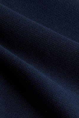 Crewneck jumper with 100% organic cotton, NAVY, detail