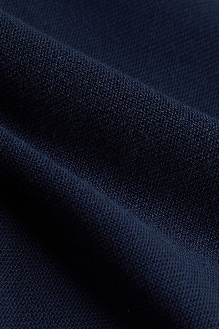 Pull-over rayé, 100% coton biologique, NAVY, detail image number 4