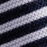 Striped jumper, 100% organic cotton, NAVY 2, swatch