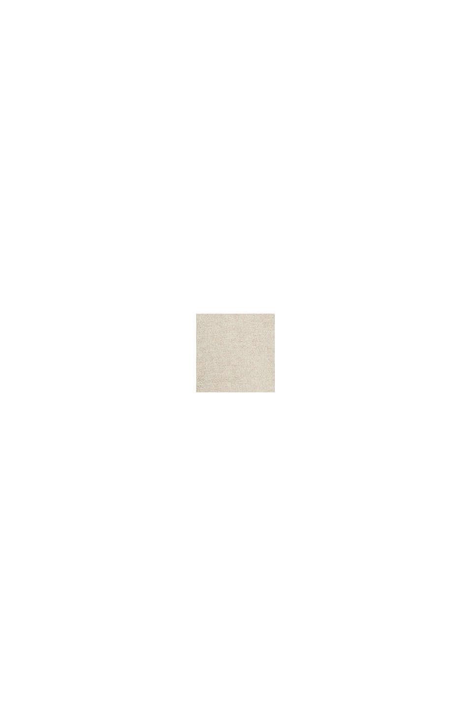 Mit Wolle: Pullover im Lagenlook, SAND, swatch