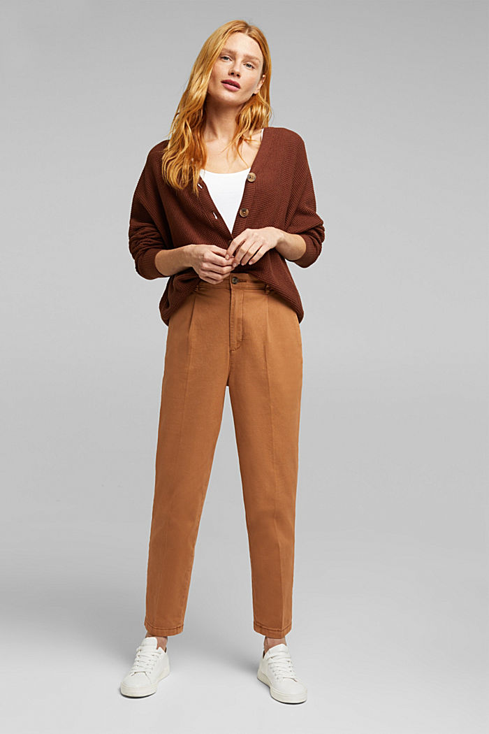 Fashion Cardigan, BROWN, detail image number 1