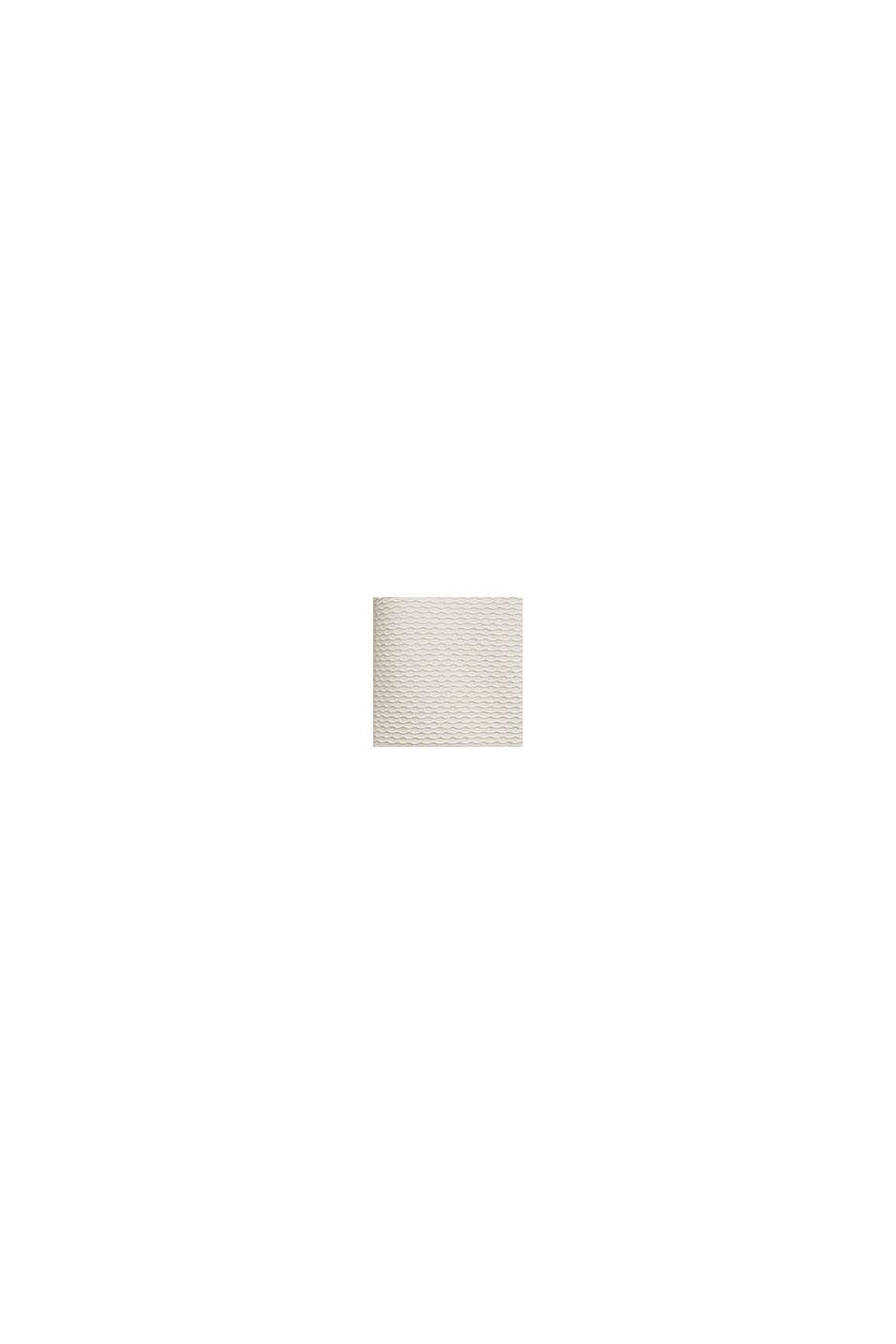 Struktur-Pullover aus Baumwoll-Mix, OFF WHITE, swatch