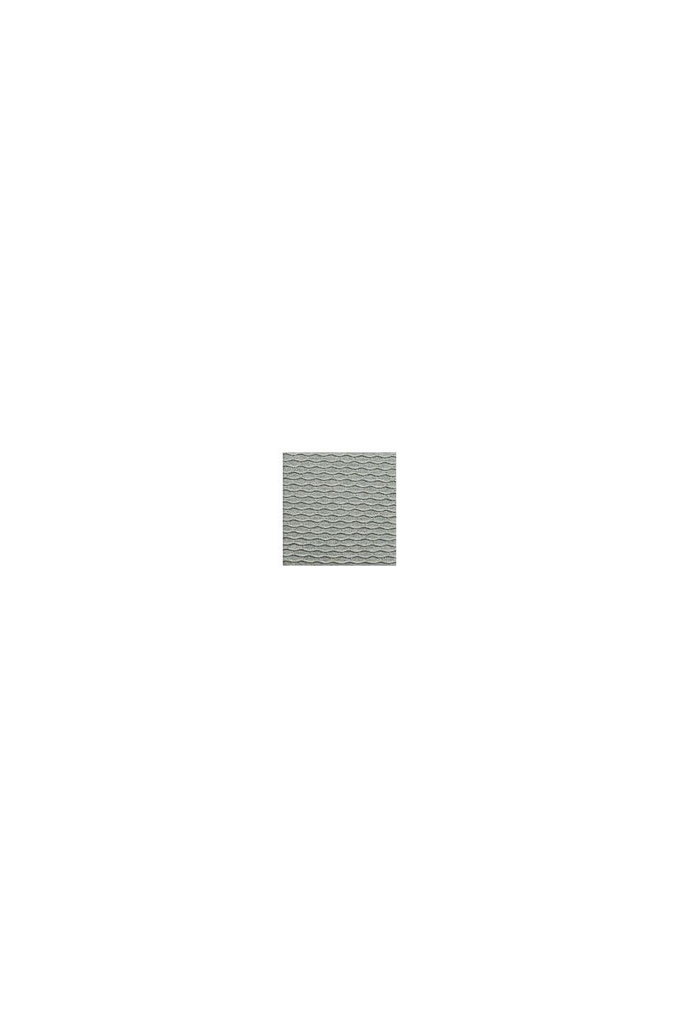 Struktur-Pullover aus Baumwoll-Mix, DUSTY GREEN, swatch