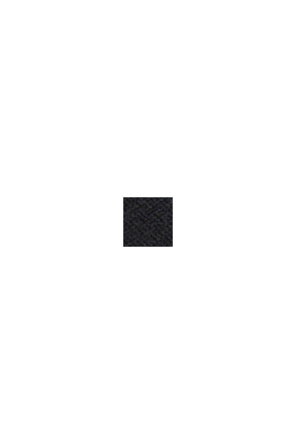 Basic pulovr s bio bavlnou, BLACK, swatch