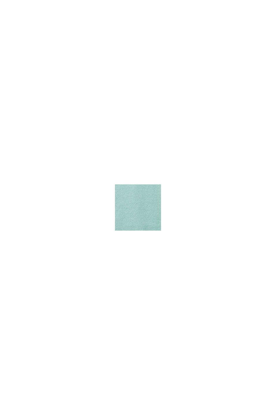 Jersey básico con algodón ecológico, LIGHT TURQUOISE, swatch