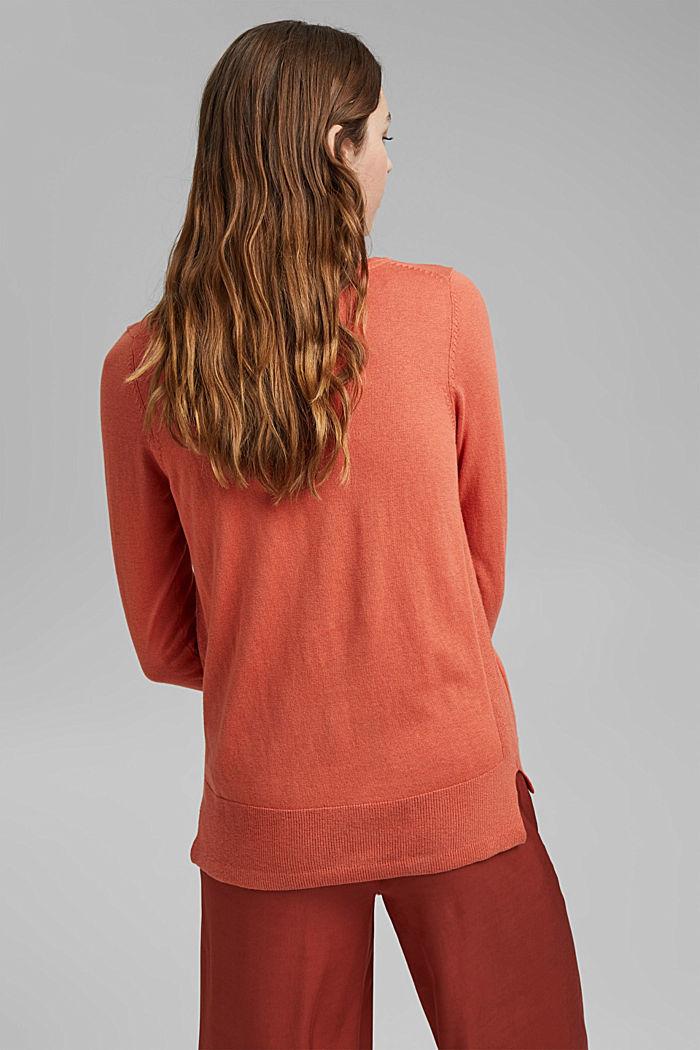 Basic Pullover mit Organic Cotton, BLUSH, detail image number 3