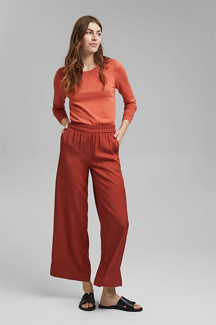 Basic Pullover mit Organic Cotton, BLUSH, detail image number 1
