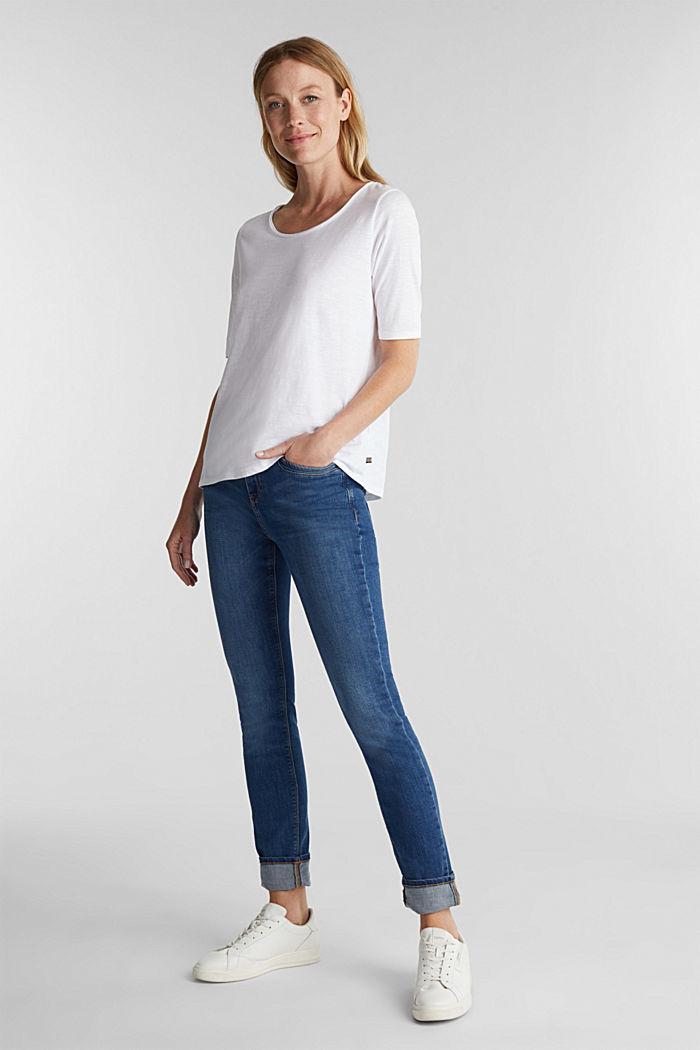 T-Shirt aus 100% Organic Cotton, WHITE, detail image number 1