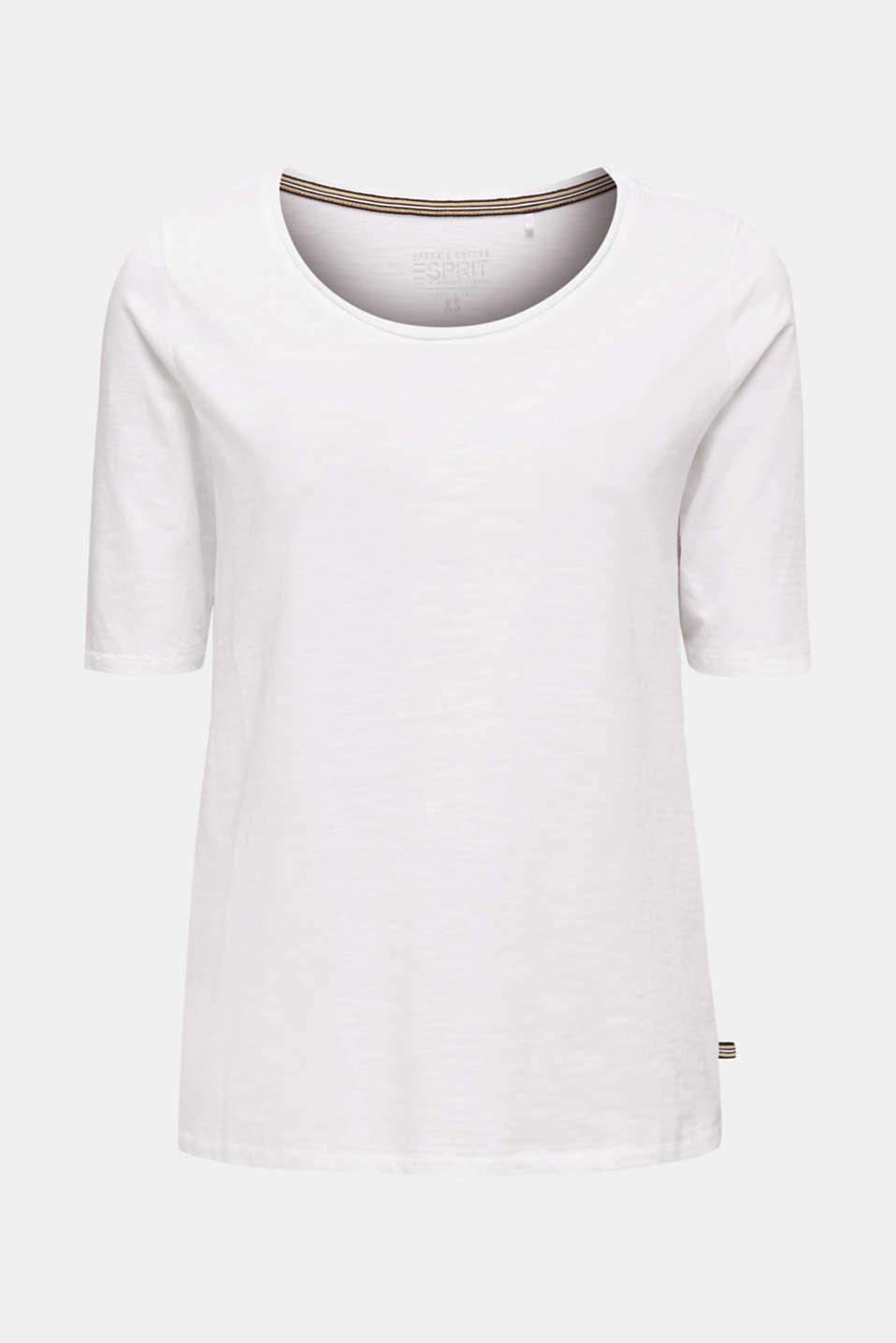 T-shirt made of 100% organic cotton, WHITE, detail image number 6