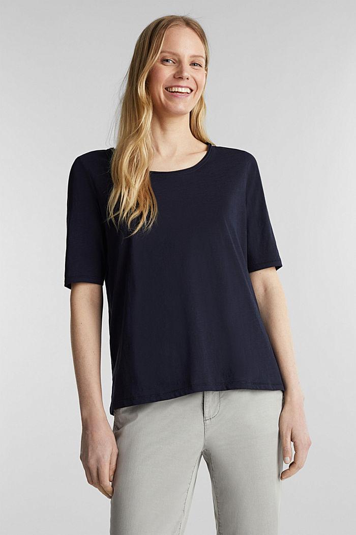 T-shirt made of 100% organic cotton, NAVY, detail image number 0