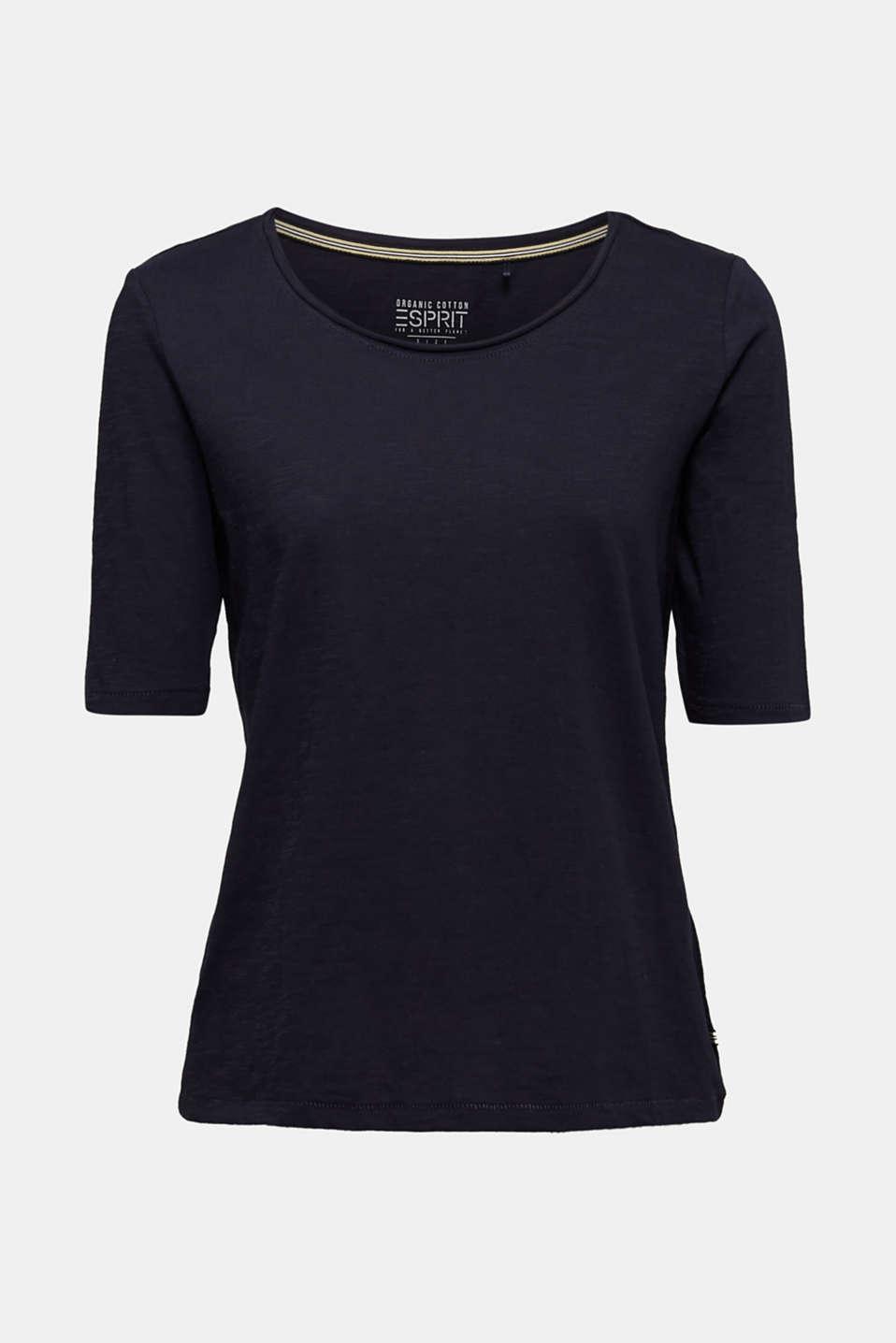 T-shirt made of 100% organic cotton, NAVY, detail image number 5