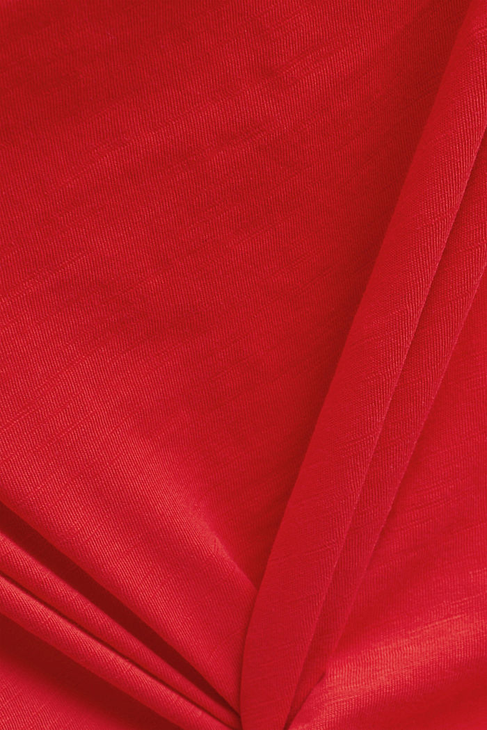T-shirt made of 100% organic cotton, RED, detail image number 4