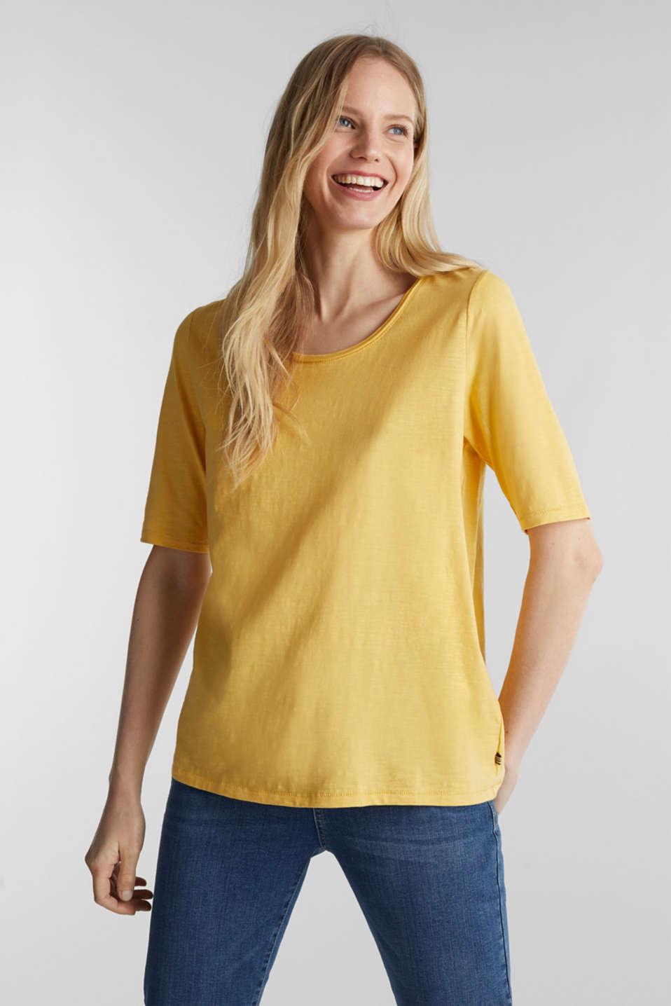 T-Shirts, YELLOW 4, detail image number 0