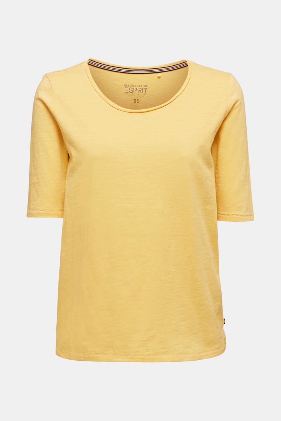 T-Shirts, YELLOW 4, detail image number 6