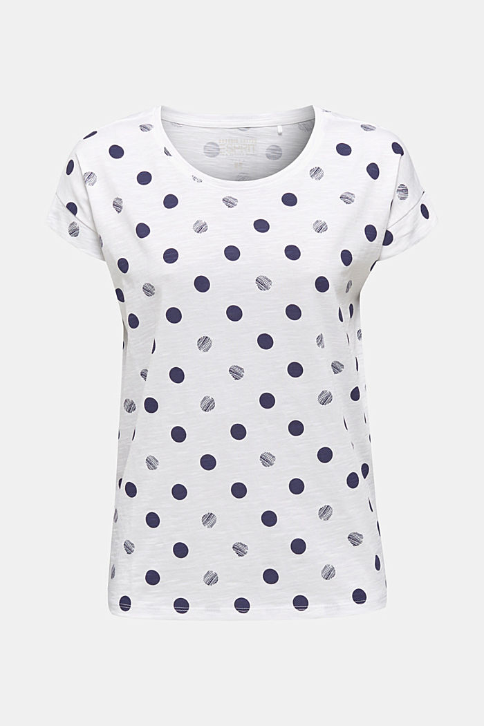 Shirt mit Print, 100% Organic Cotton