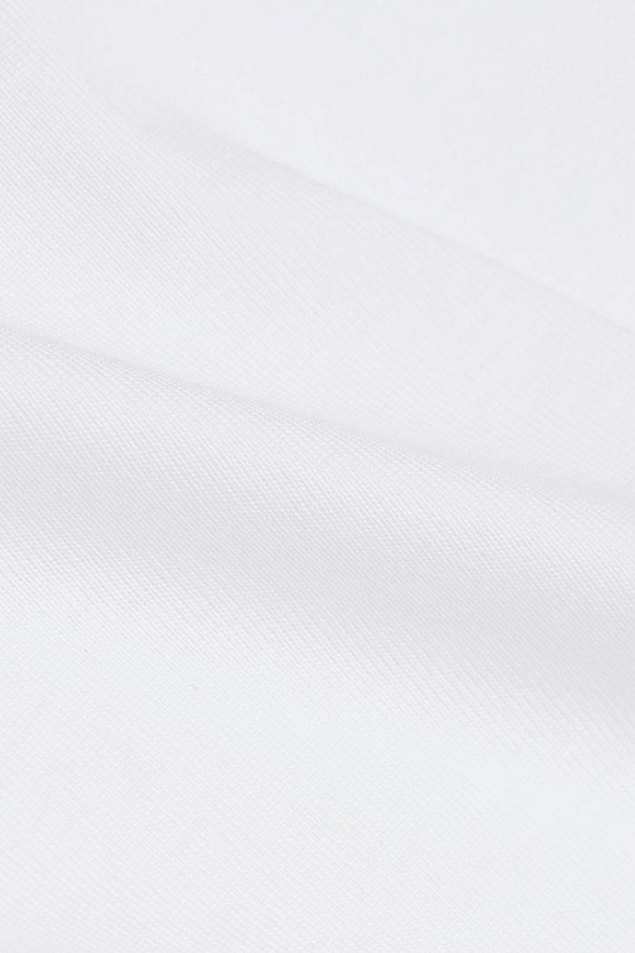 Koszulka z długimi rękawami, 100% bawełny organicznej, WHITE, detail image number 4