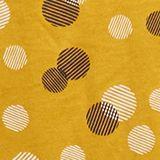 Maglia a maniche lunghe con stampa in cotone/modal, BRASS YELLOW, swatch
