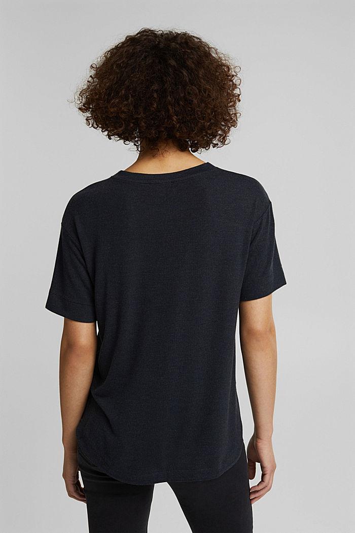 Koszulka z LENZING™ ECOVERO™, BLACK, detail image number 3