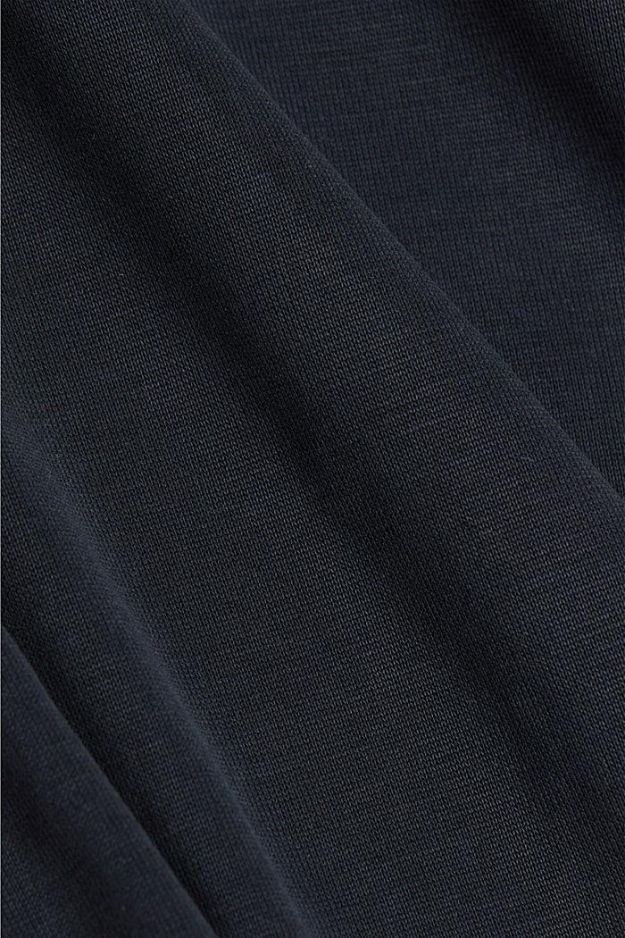 Koszulka z LENZING™ ECOVERO™, BLACK, detail image number 4