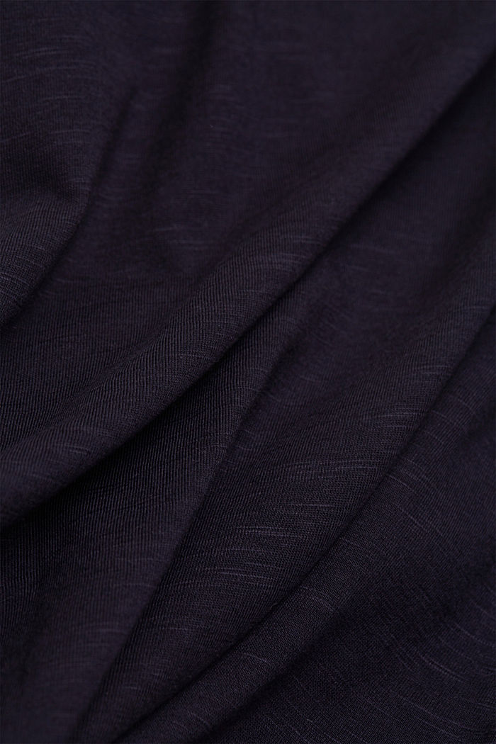 Organic cotton-jersey T-shirt, NAVY, detail image number 4
