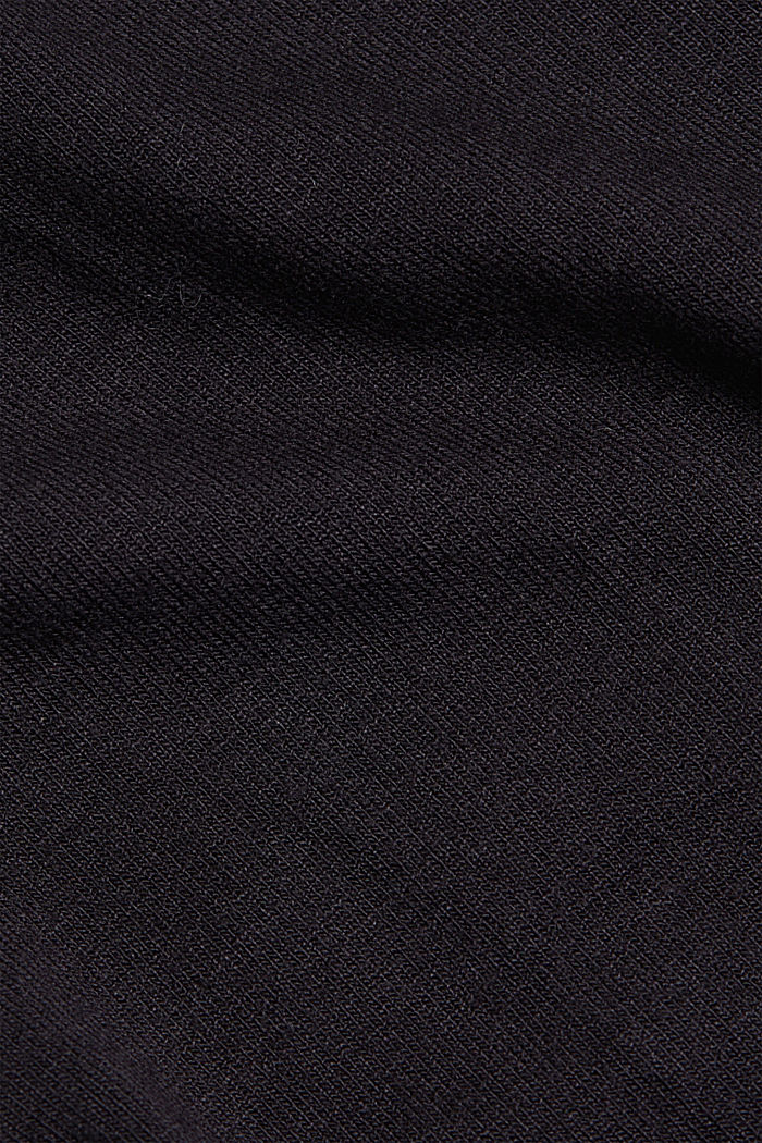 Stretch jersey top with spaghetti straps, BLACK, detail image number 4