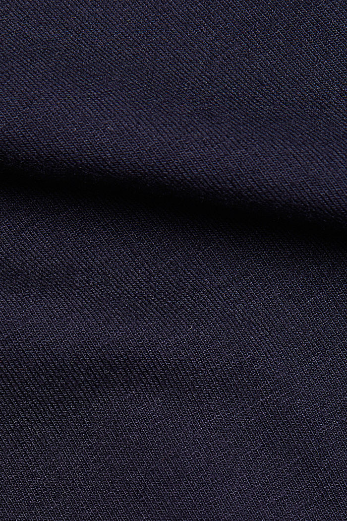 Stretch jersey top with spaghetti straps, NAVY, detail image number 4
