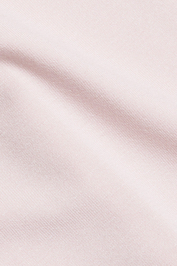 Stretch jersey top with spaghetti straps, LIGHT PINK, detail image number 4