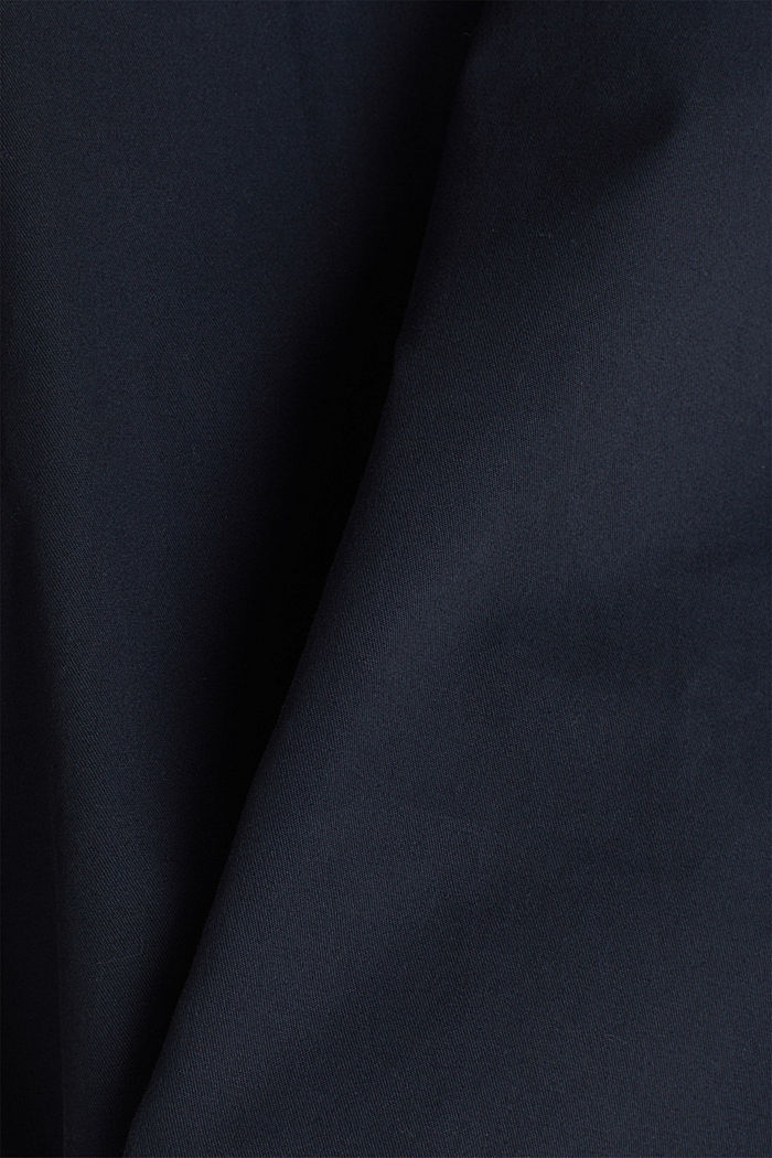 Stretch chinos made of twill, NAVY, detail image number 4