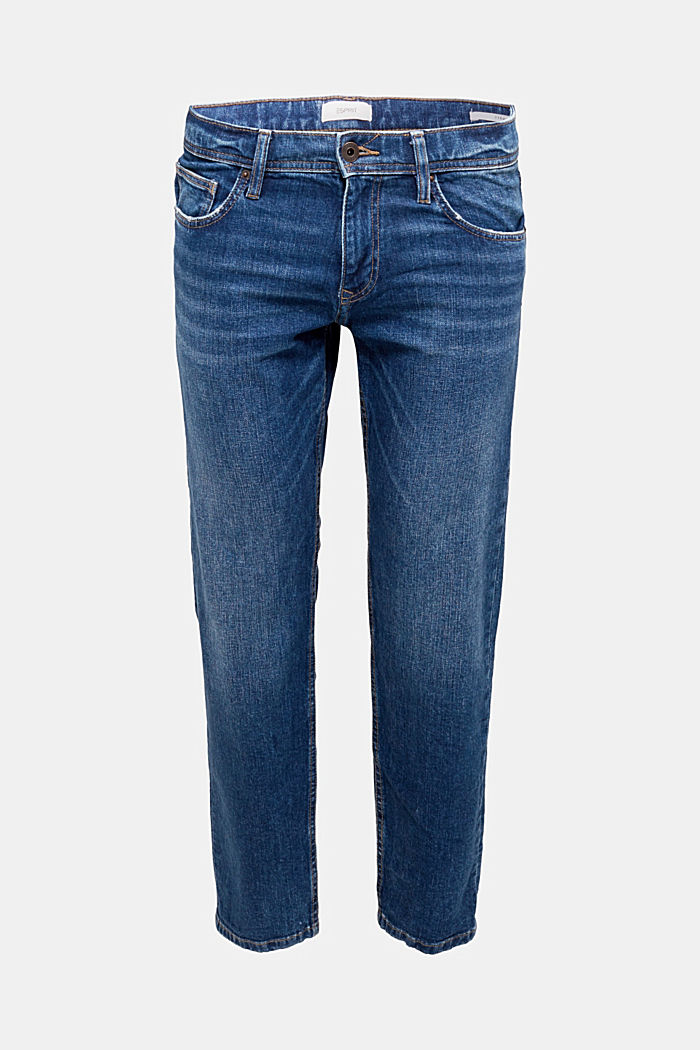 Stretch-Jeans mit Organic Cotton, BLUE MEDIUM WASHED, detail image number 5